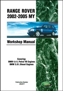 Genuine Workshop Manual for Range Rover L322 2002-05 Model Years -  -
