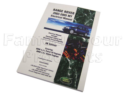 Genuine Electrical Manual for Range Rover L322 2002-05 Model Years -  -