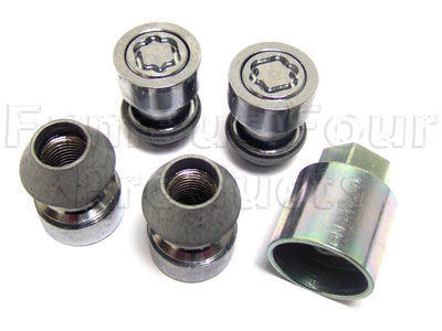 Locking Wheel Nuts -  -