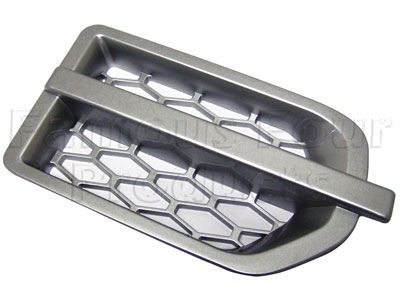 Picture of FF006328 - Side Vent  - Silver Finish