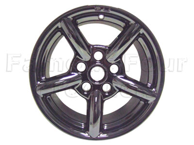 ZU Alloy Wheel 8 x 16 - Gloss Black