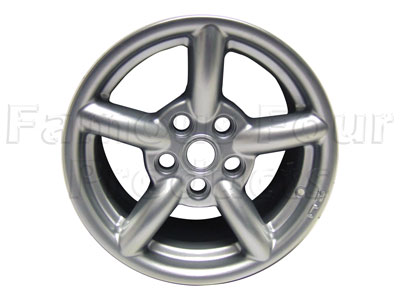 ZU Alloy Wheel 8 x 16 - Silver