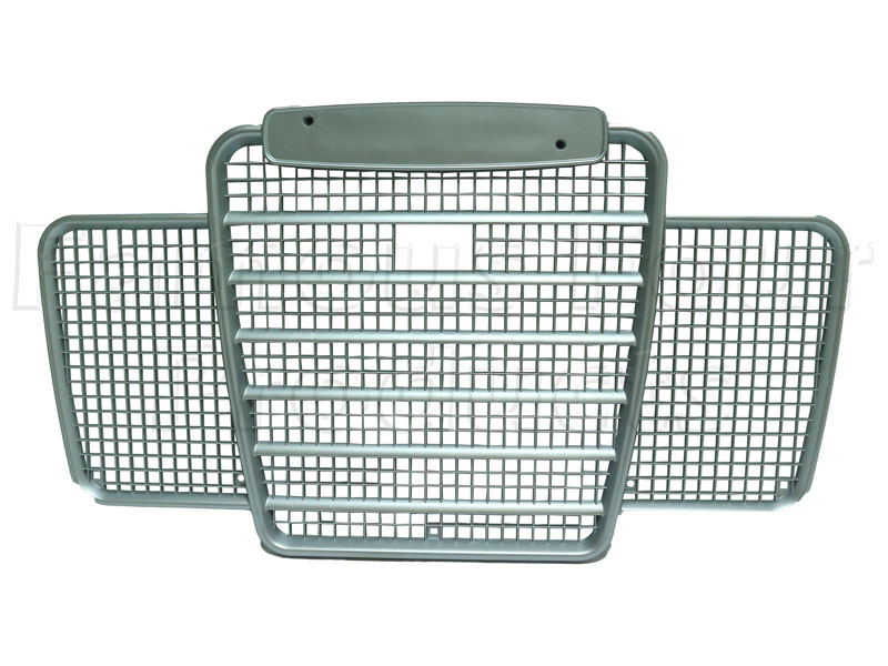 FF006380 - Front Grille - Plastic - Land Rover Series IIA/III