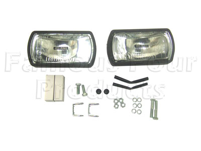 Rectangular Driving Lamp - Land Rover and Range Rover