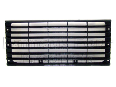 Picture of FF006425 - Front Grille - Standard Plastic (Gloss Black)