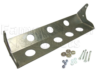 Steering Guard - Steel - Series IIA and III