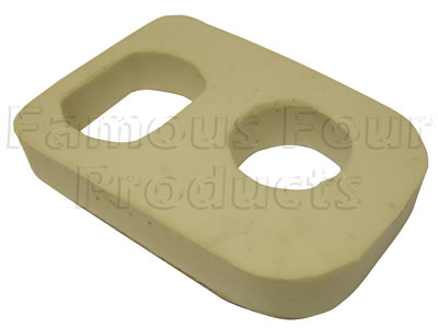 Picture of FF006531 - Foam Insulation Pad - Below Gear Lever Gaiter