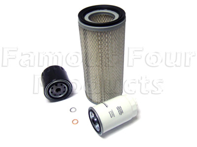 Picture of FF006540 - Service Filter Kit - Oil Air Fuel Filters with Drain Plug Washer
