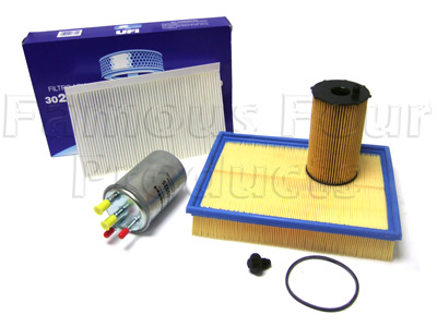 Picture of FF006550 - Service Filter Kit - Oil Air Fuel Pollen Filters with Drain Plug