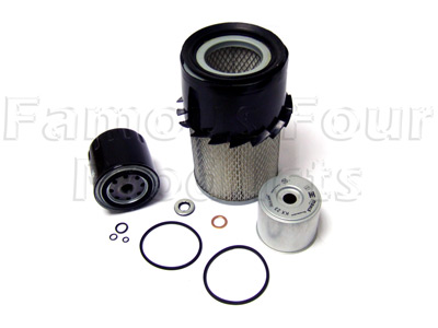 Picture of FF006552 - Service Filter Kit - Oil, Air & Fuel Filters with Drain Plug Washer