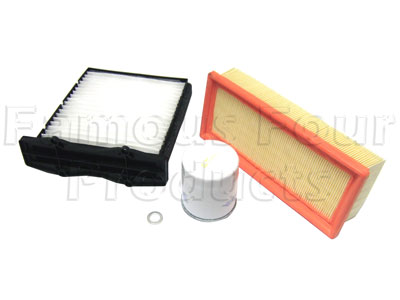 Picture of FF006556 - Service Filter Kit - Oil Air Fuel Pollen Filters with Drain Plug Washer