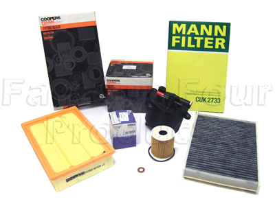 Picture of FF006563 - Service Filter Kit - Oil Air Fuel Pollen Filters with Drain Plug Washer