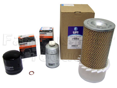 Picture of FF006567 - Service Filter Kit - Oil Air Fuel Filters with Drain Plug Washer