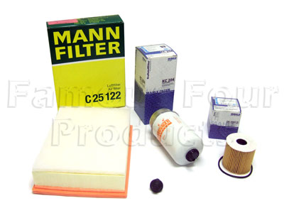 Picture of FF006568 - Service Filter Kit - Oil Air Fuel Filters with Drain Plug