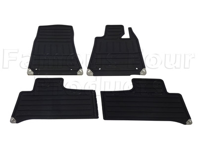 Picture of FF006626 - Rubber Footwell Mat Set
