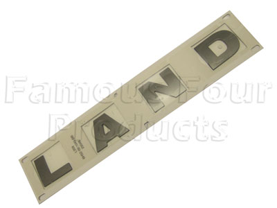 Picture of FF006630 - LAND Lettering