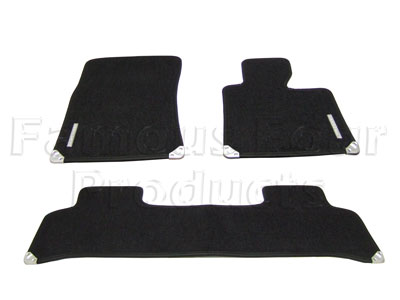 Footwell Carpet Overmat Set -  -