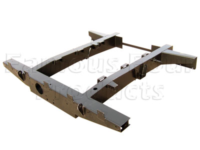 Picture of FF006660 - SWB Rear Half Chassis with Spring Hangers