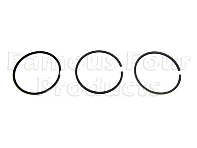 Picture of FF006668 - Piston Ring Set