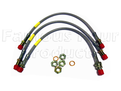 Picture of FF006710 - Braided Brake Hose Kit