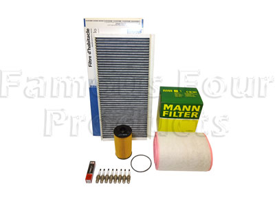 Picture of FF006743 - Service Filter Kit - Oil Air Fuel Pollen Filters with Drain Plug Washer