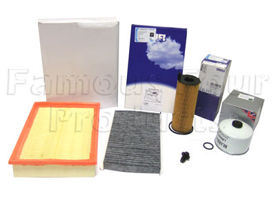 Picture of FF006748 - Service Filter Kit - Oil Air Fuel Pollen Filter with Drain Plug