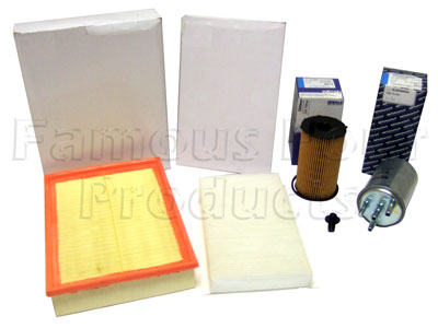 Picture of FF006750 - Service Filter Kit - Oil Air Fuel Pollen Filter with Drain Plug