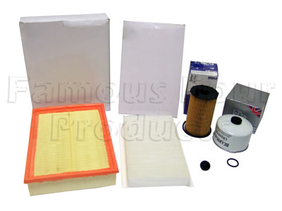 Picture of FF006754 - Service Filter Kit - Oil Air Fuel Pollen Filter with Drain Plug