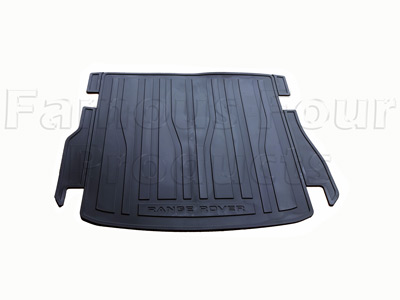 Rear Load Space Rubber Mat