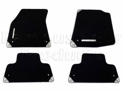 Carpet Footwell Mat Set -  -