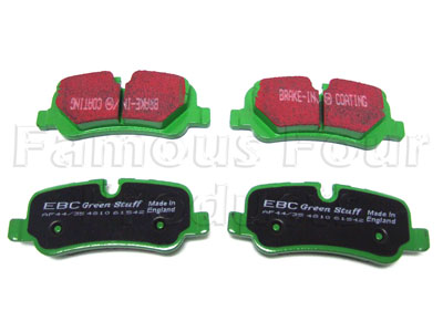 Picture of FF006871 - Brake Pads - High Performance