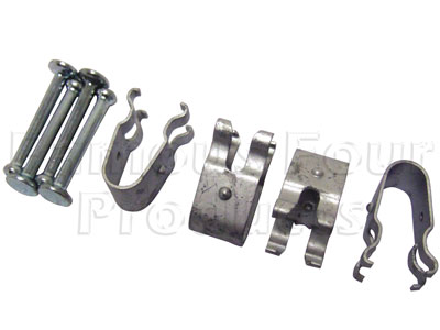 Picture of FF006877 - Fixing Pins and Clips for Handbrake Shoes