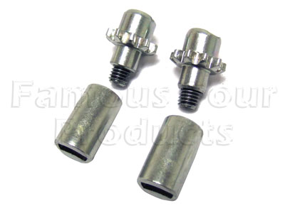 Picture of FF006879 - Adjuster Knurls for Handbrake Shoes