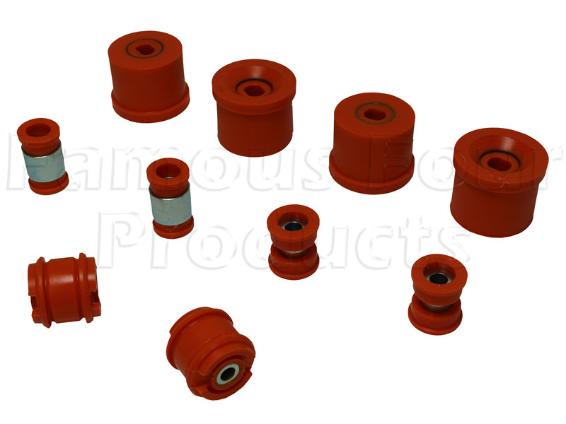 Polyurethane Chassis Bush Kit ( Front Wishbones / Rear Trailing Arms and Track Arms) -  -