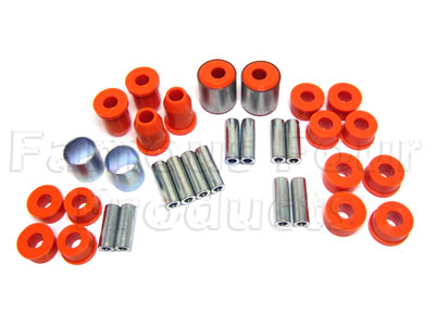 Picture of FF006907 - Polyurethane Chassis Bush Kit ( Front and Rear Wishbones )