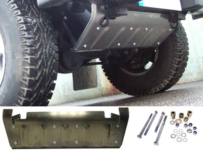 Steering Guard Undershield - 90/110