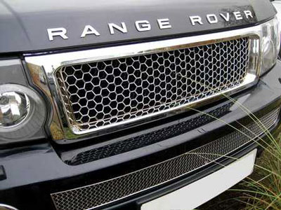 Front Grille Chrome Effect