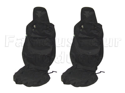 Tailored Waterproof Front Seat Covers - 2 Seats - Defender