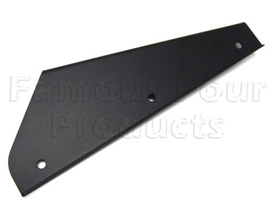 Picture of FF007066 - Bracket for Mudflap Rubber - Front