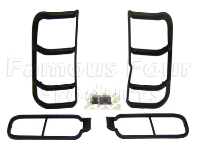 Rear Upper and Lower Lamp Guards -  -