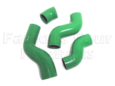 Silicone Intercooler Hoses - Set of 3