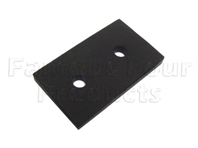 Picture of FF007154 - Rubber Pad - Rear Floor Supports