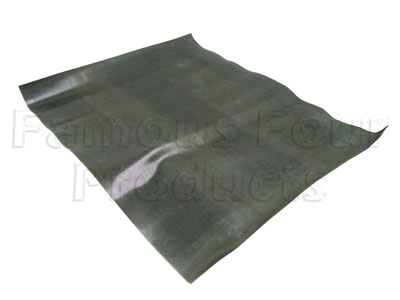 FF007204 - Rubber Mat - Loadspace Area Floor - Land Rover Series IIA/III