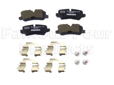 Picture of FF007242 - Brake Pads