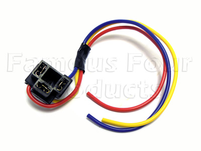Wiring Connector - H4 Bulb -  -
