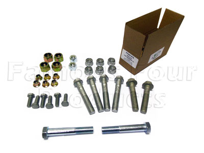 Picture of FF007476 - Nut & Bolt Kit for Chassis Bush Change