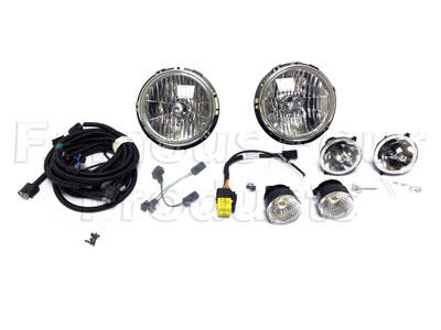 SVX Front Lighting Pack - includes all six front lamps -  -