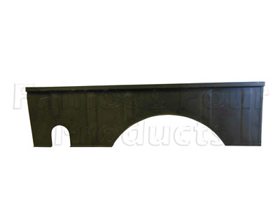 2-Door Rear Inner Wing Vertical Panel