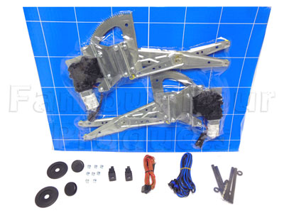 Picture of FF007545 - Front Door Electric Window Lift Conversion Kit