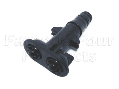 Picture of FF007551 - Headlamp Washer Jet (Twin Nozzle)